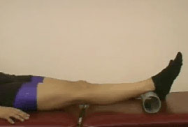 passive extension knee exercise