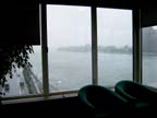 View of the east river from one of the waiting rooms