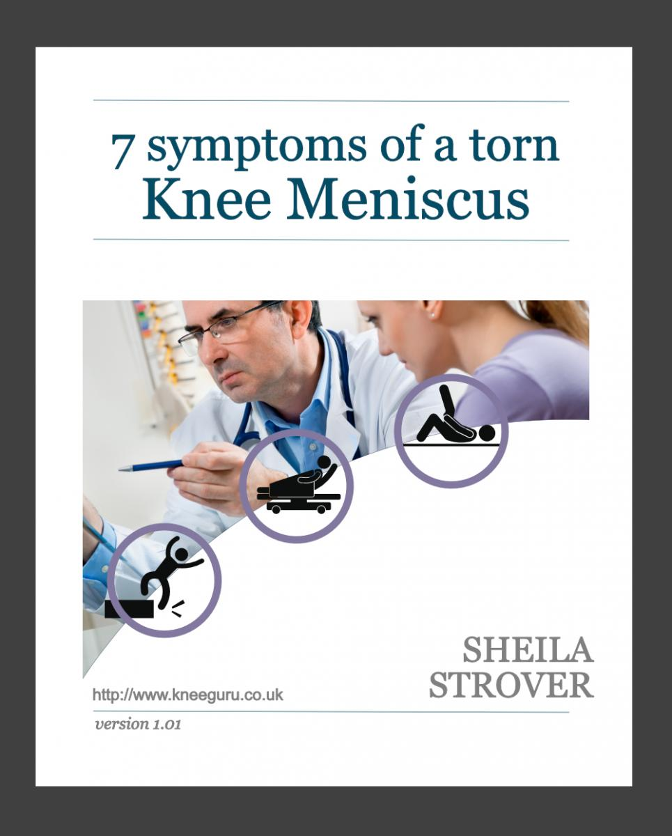 7 symptoms of a torn knee meniscus