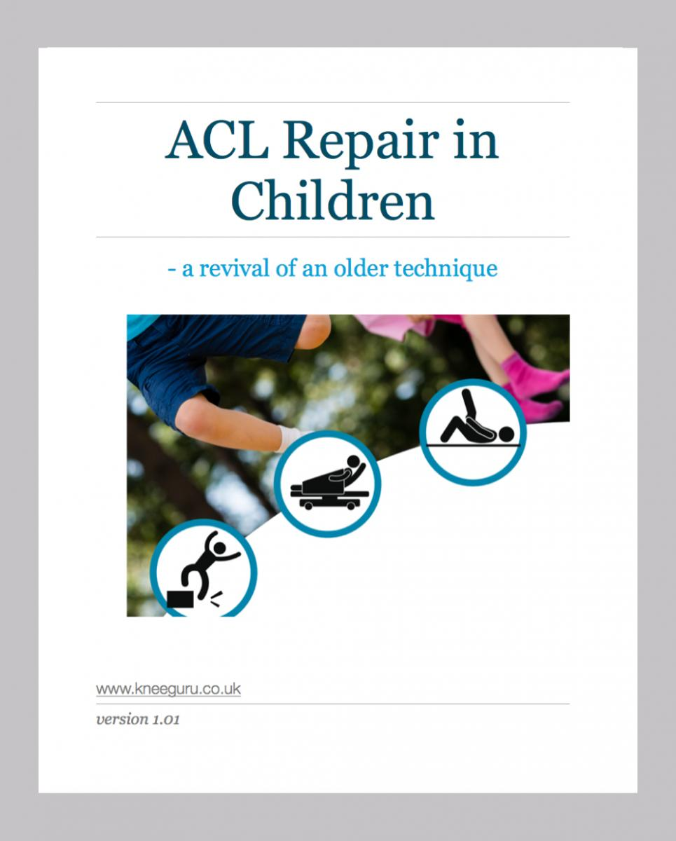 AL Repair in Children