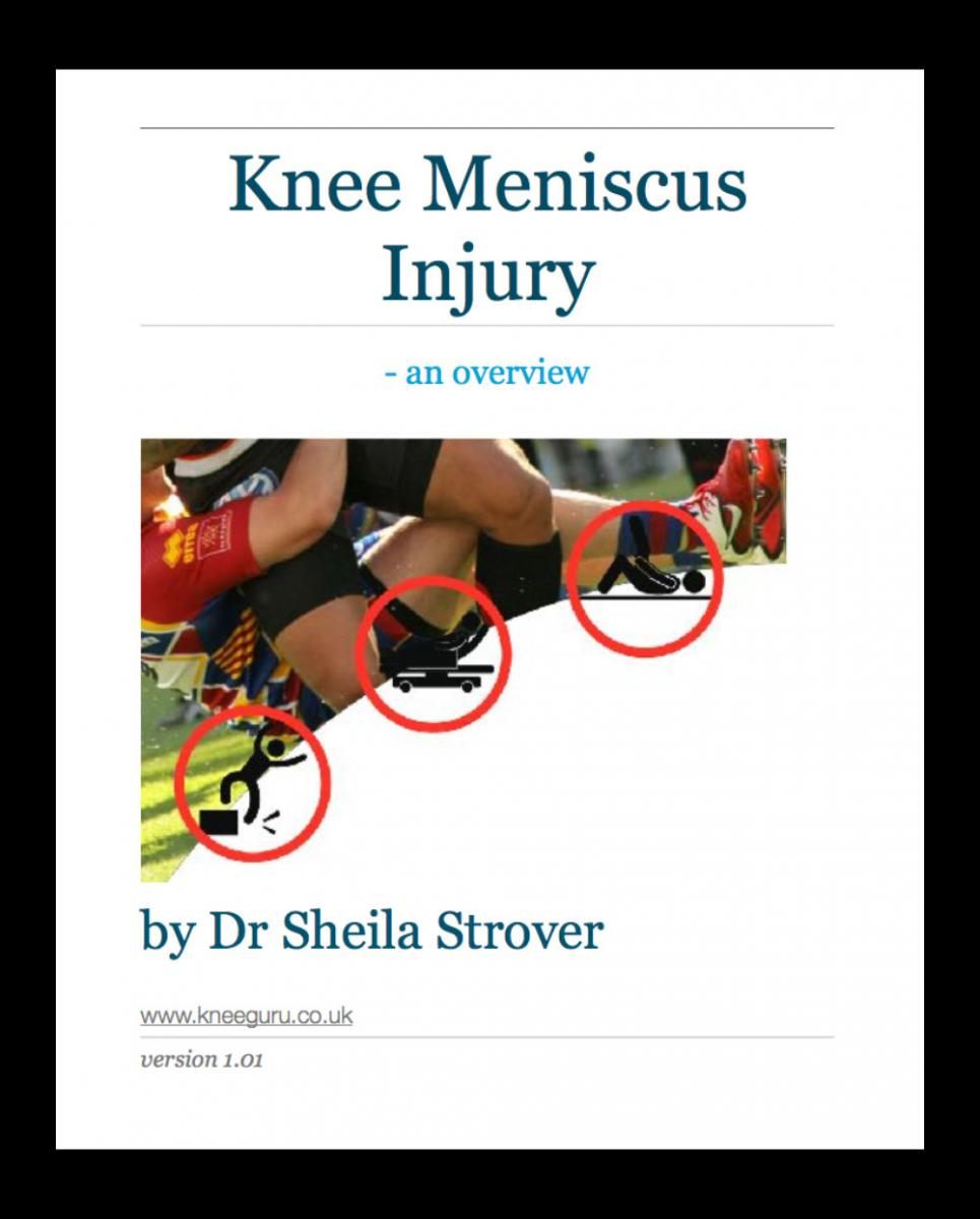 knee meniscus injury ebook