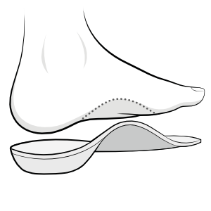 orthotic or foot insole