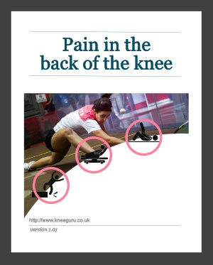 ebook - pain in the back of the knee