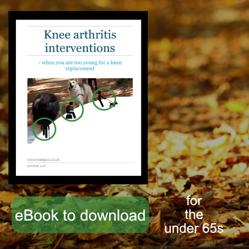 knee arthritis interventions